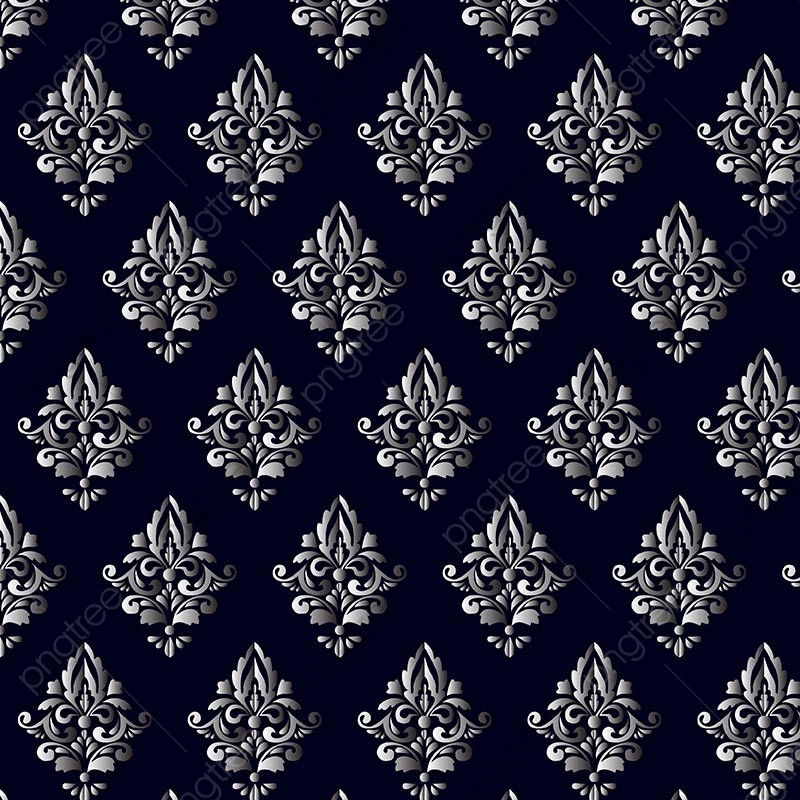 Damask Pattern, Damask, Ornamental Pattern, Pattern PNG and Vector.