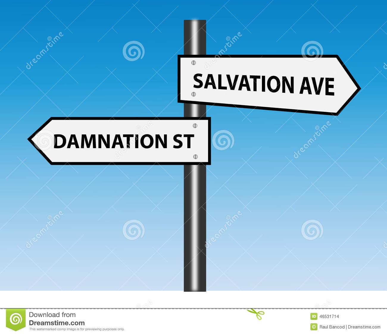 Damnation Stock Illustrations.