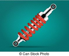 Car shock absorber damping Vector Clipart EPS Images. 27 Car shock.