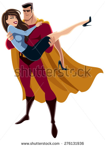 Damsel In Distress Stock Images, Royalty.