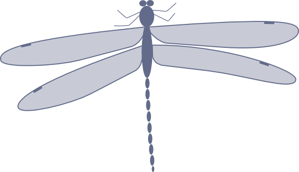 Damselfly Clip Art at Clker.com.