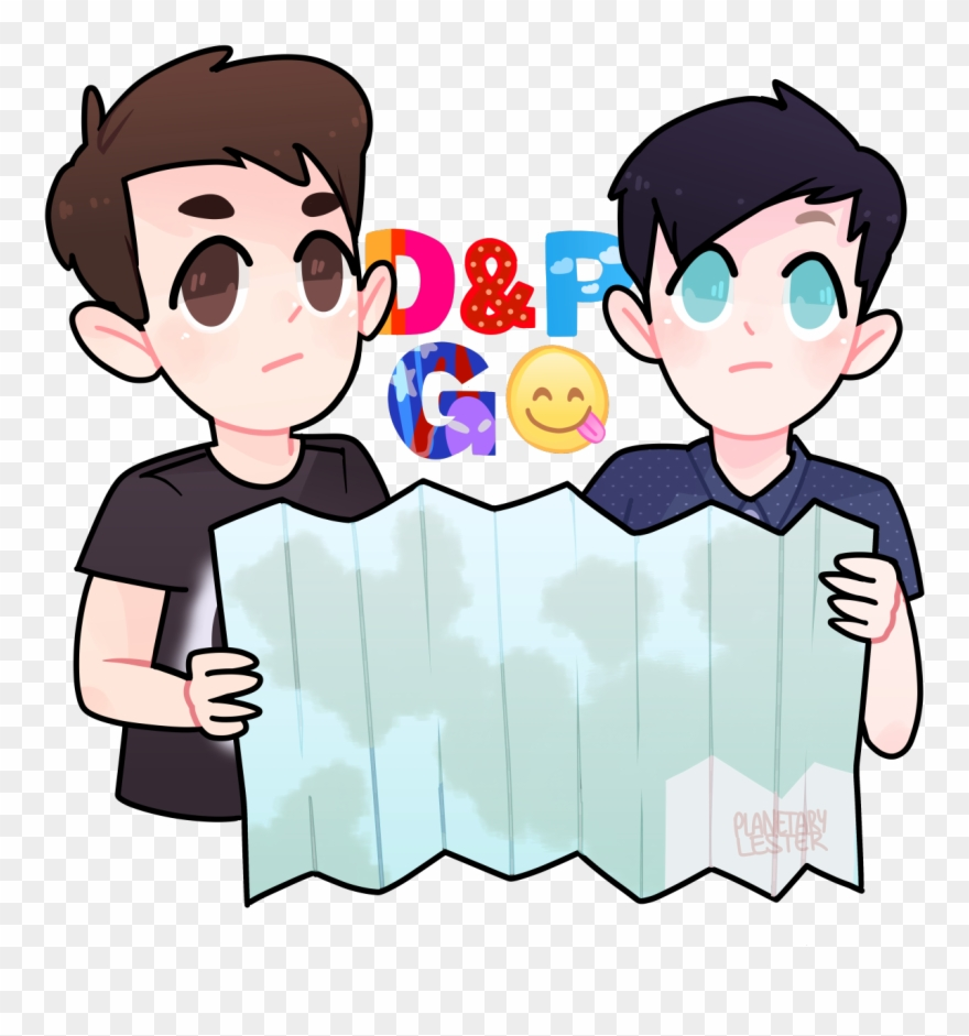 Dan And Phil Go Outside Make Your Own Actual Cover Clipart (#2916544.