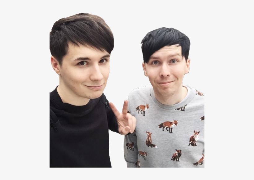 Transparent Dan And Phil.