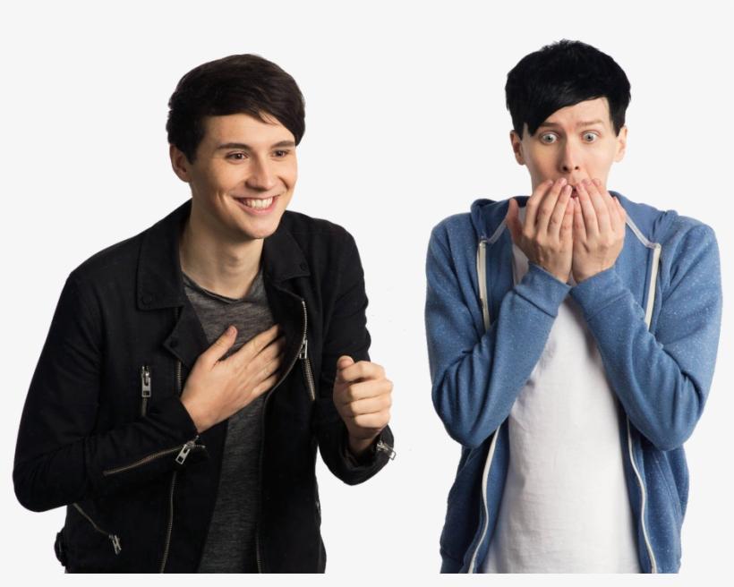 Dan And Phil Transparent.