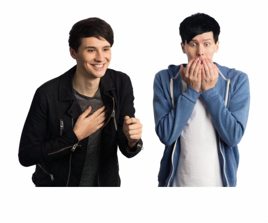 Dan And Phil Png, Transparent Png Download For Free #2660950.