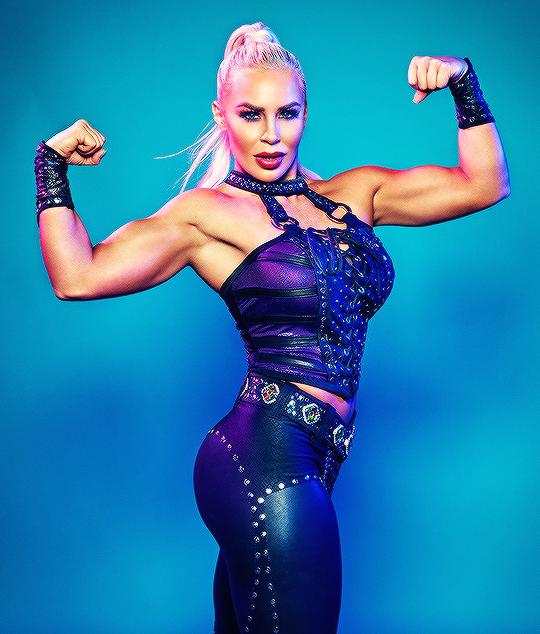 "The women of WWE Evolution]: Dana Brooke ""."