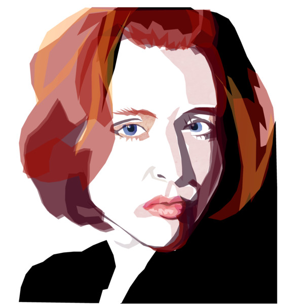Dana scully clipart.