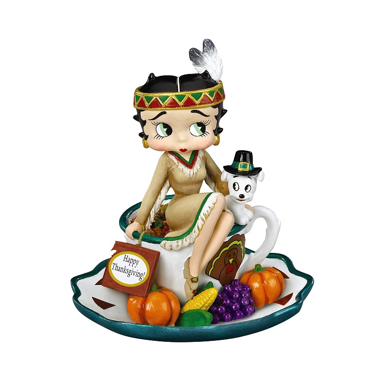 Betty Boop Thanksgiving Pictures.