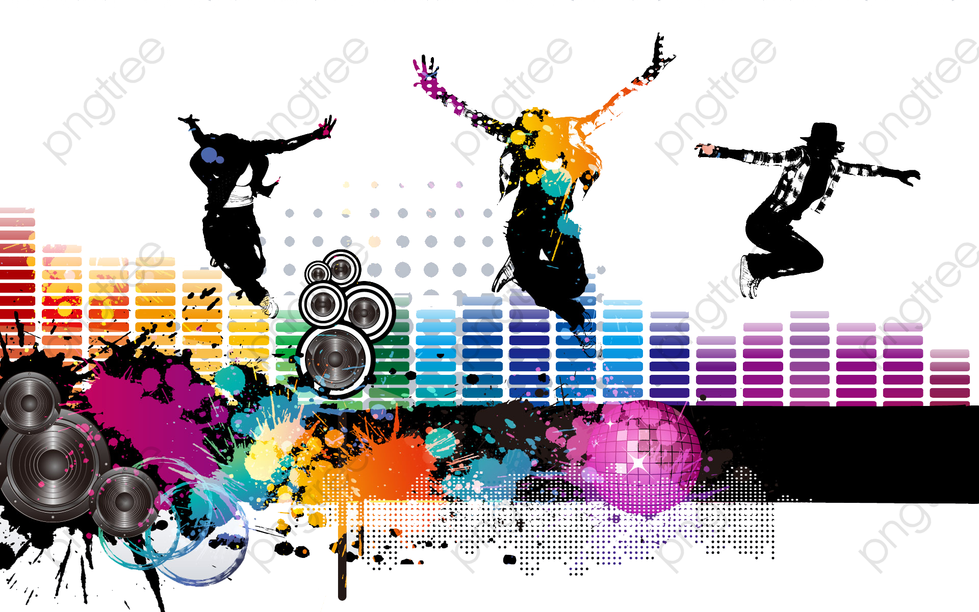 Follow Dance Music Background, Dance Clipart, Music Clipart.