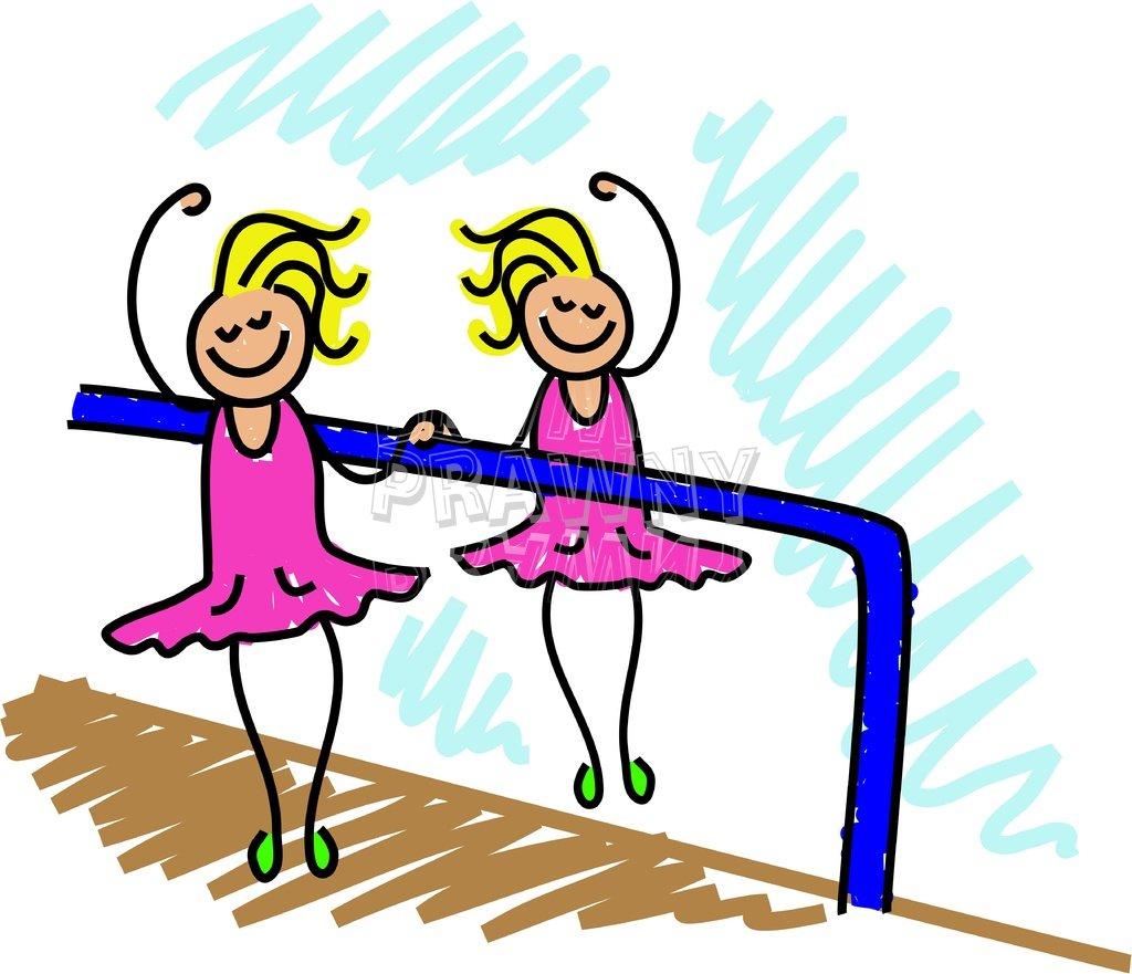 Toddler Art Ballet Dancer Clipart Children.