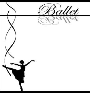 Ballet Border Cliparts.