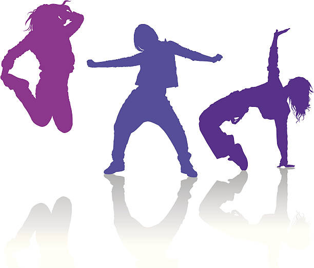 Hip Hop Dancing Clipart.