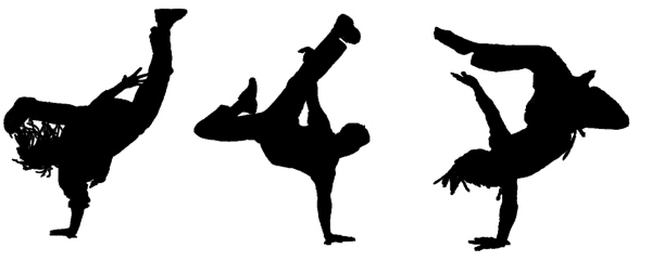 Hip Hop Dance Clip Art.