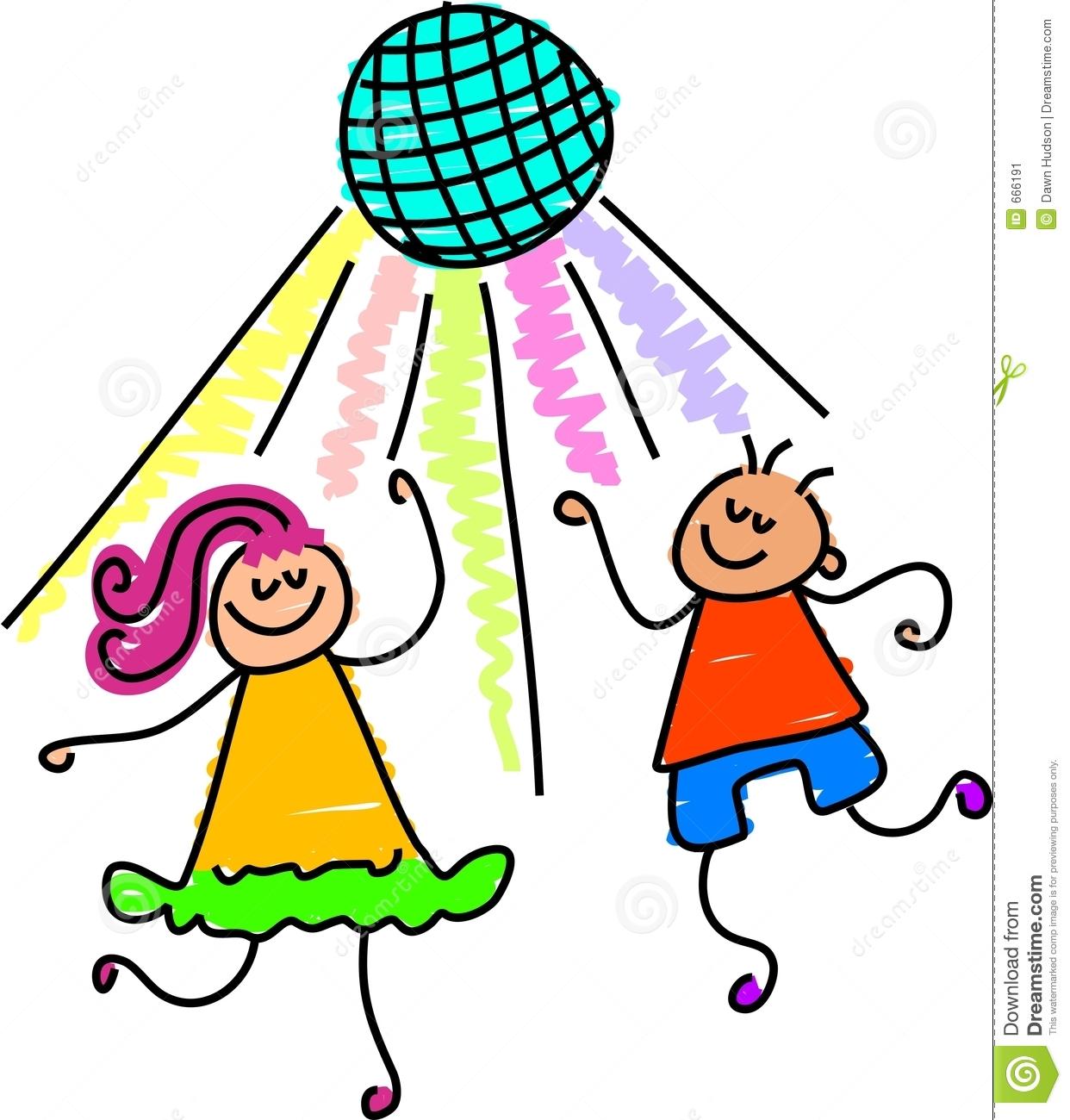 Kids Dancing Clipart Free.