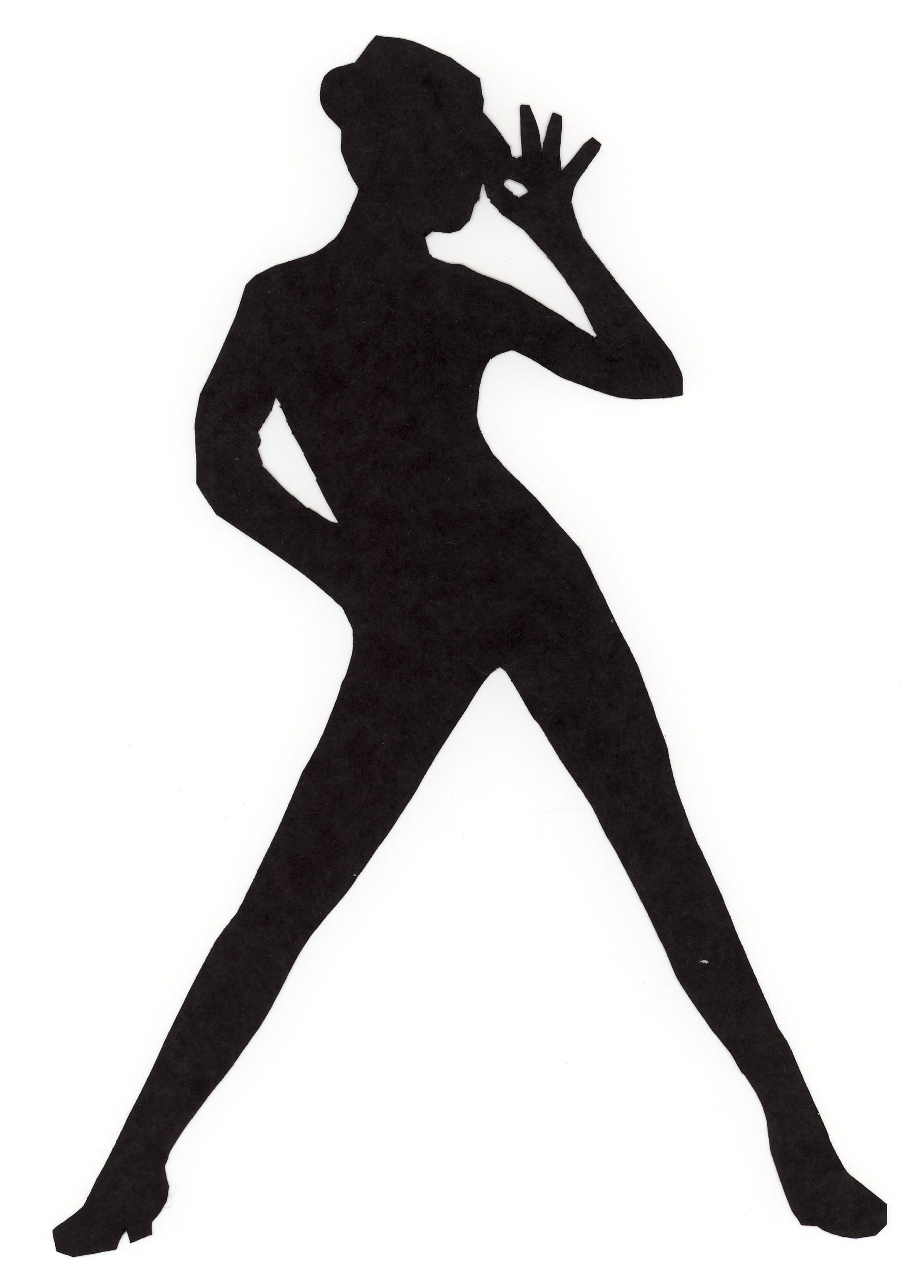 Jazz Dancer PNG Silhouette Transparent Jazz Dancer.