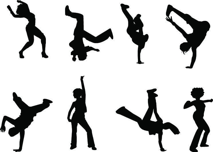 Dance Clipart Vector Free.