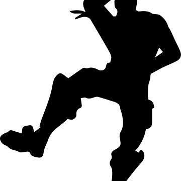 Fortnite Dance Moves Silhouette.