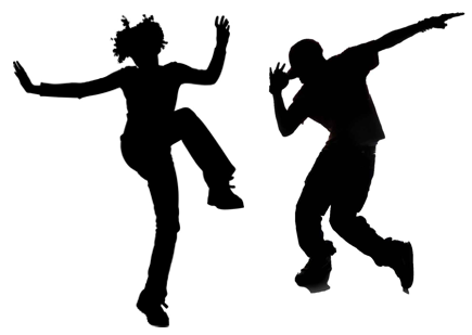 Dance Black And White Png & Free Dance Black And White.png.