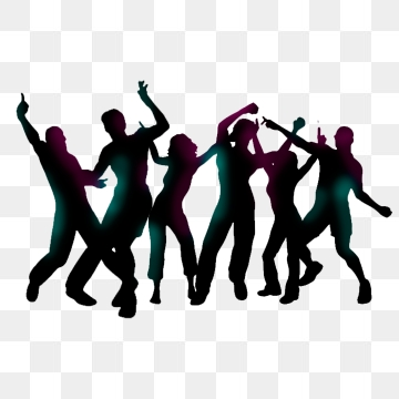 Dancing People PNG Images.