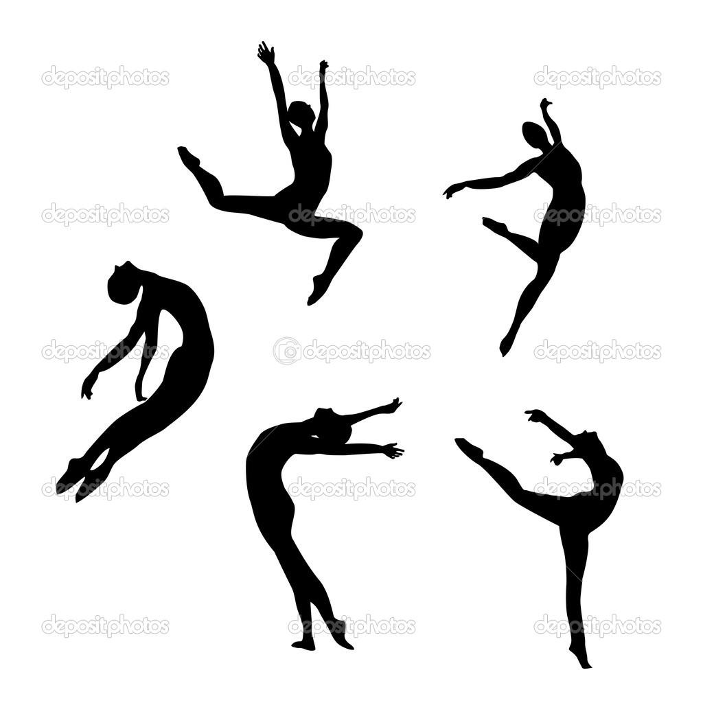 Dance Clip Art Leap Modern.