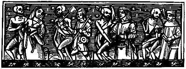 The Hans Holbein Dance of Death.