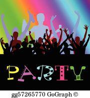 Dance Party Clip Art.
