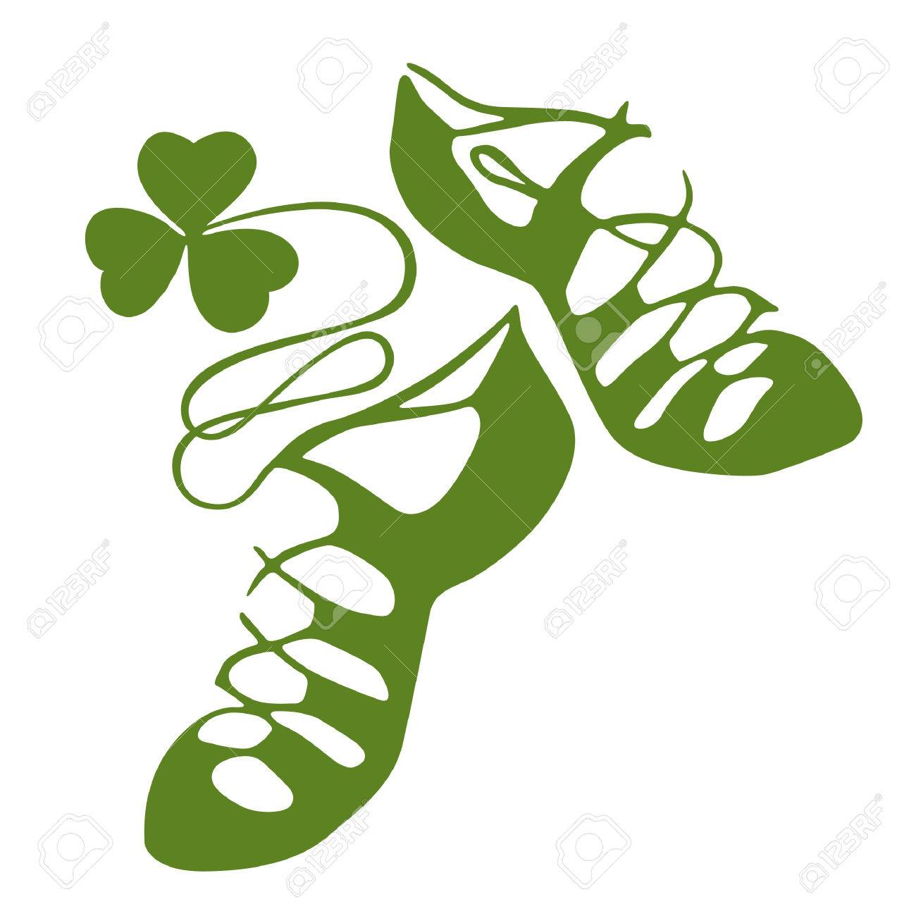 Irish dance shoes clipart 4 » Clipart Station.