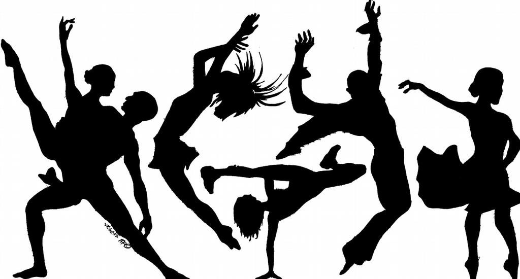 Spirals Dance Academy Clip Art Show Image.