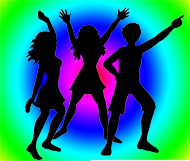 High school dance clipart.
