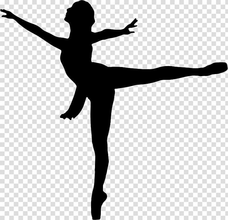 Ballet Dancer Silhouette , dance transparent background PNG clipart.