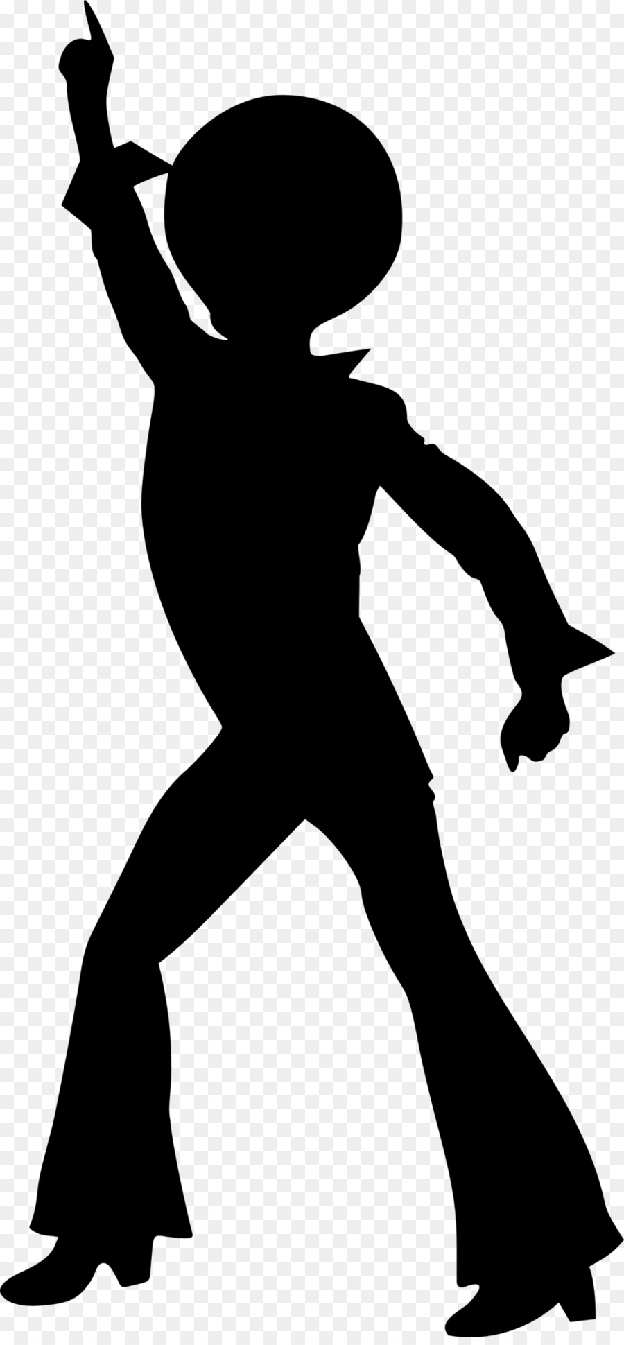 Party Silhouette clipart.