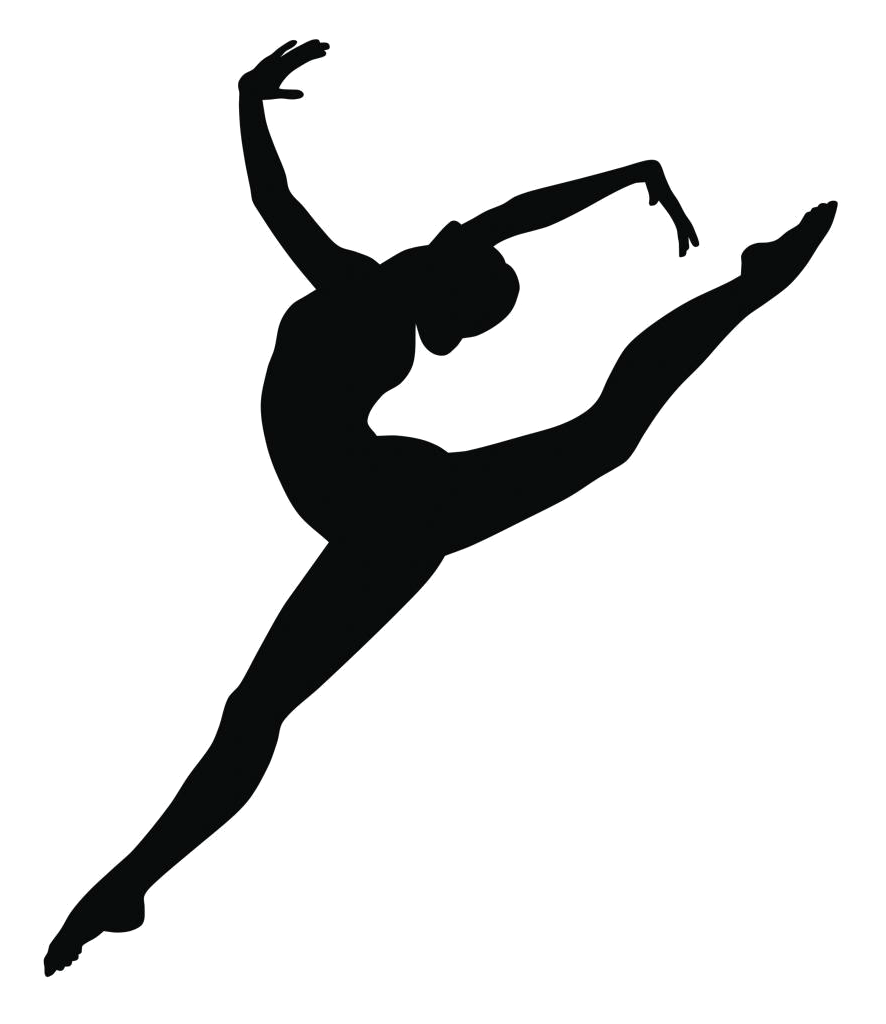 Contemporary Dancer Silhouette.