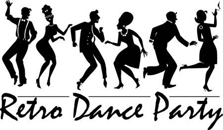 76,197 Dancing Silhouettes Cliparts, Stock Vector And Royalty Free.