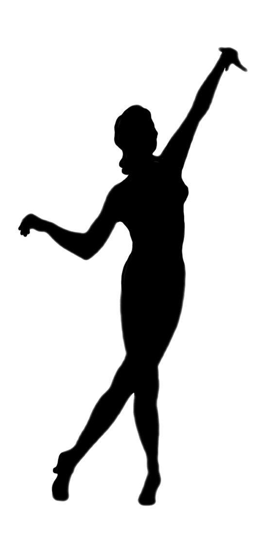 Dancer Silhouette.
