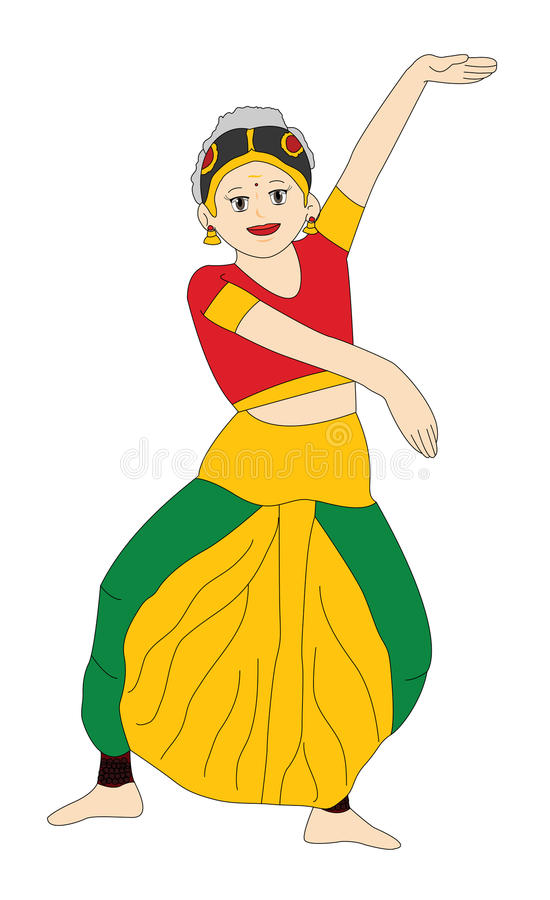 102941 Girl free clipart.