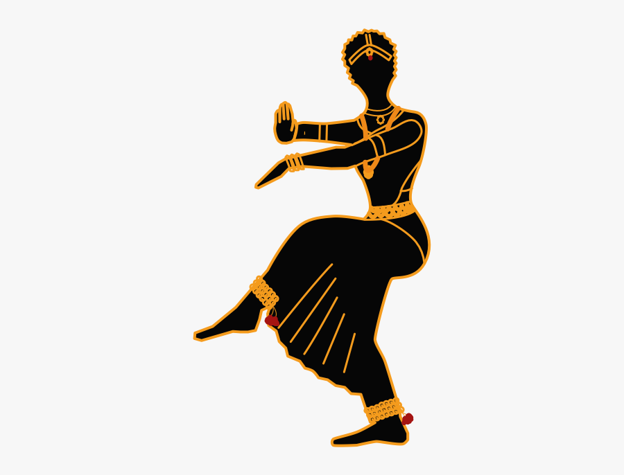 Dancing Clipart Bharatanatyam.