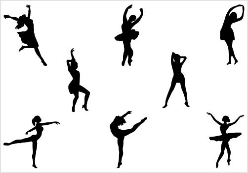 Dancer Leap Silhouette at GetDrawings.com.