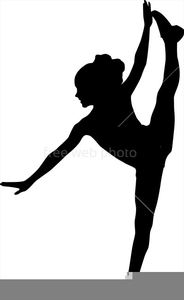 Leaping Dancer Clipart.