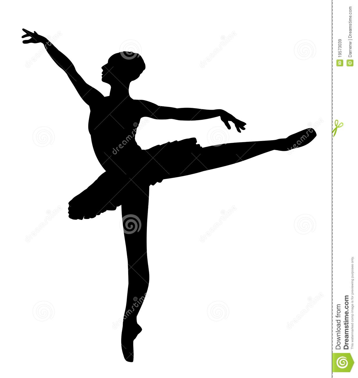 Dancer Clipart Silhouette Leap.