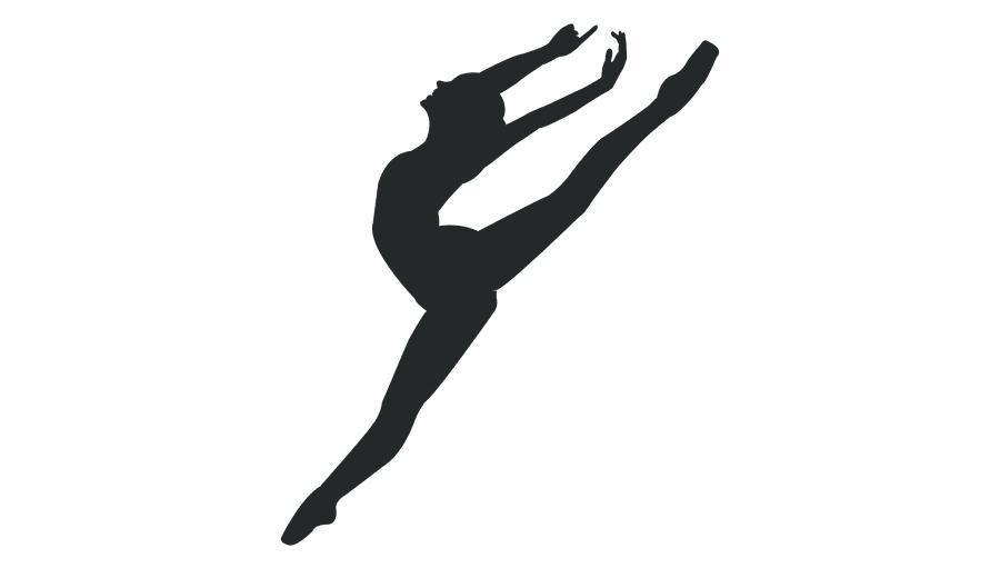 Dancer Silhouette Clipart Pole Dance Two Women Clip Art Free.
