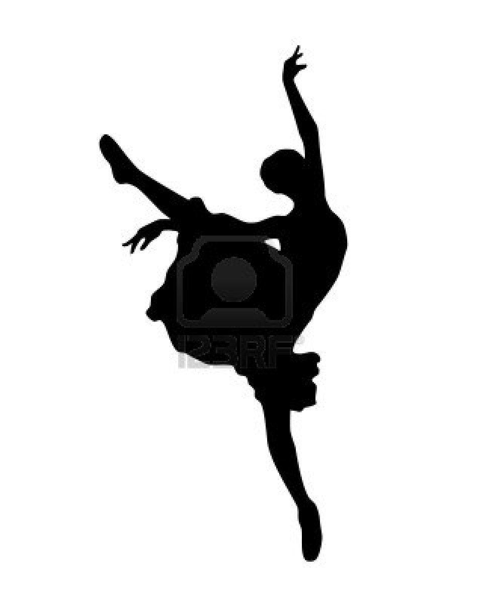 Ballerina Outline Clip Art in 2019.