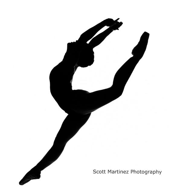Dance Silhouette Clipart#2218844.