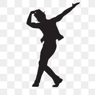 Dancing Silhouette PNG Images.