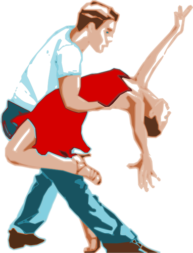 4642 free clipart dancing couple silhouette.
