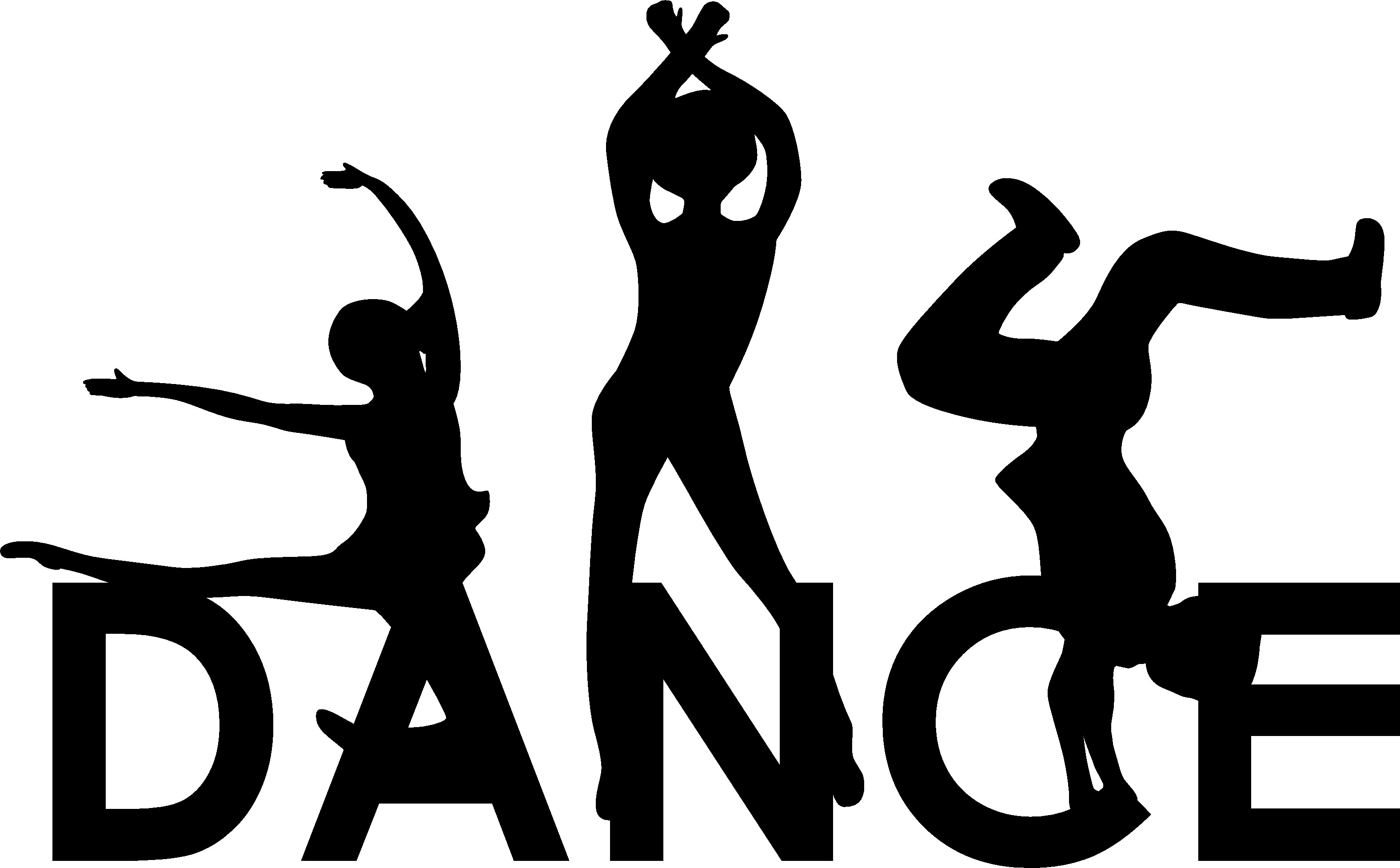 Dance Team Silhouette at GetDrawings.com.