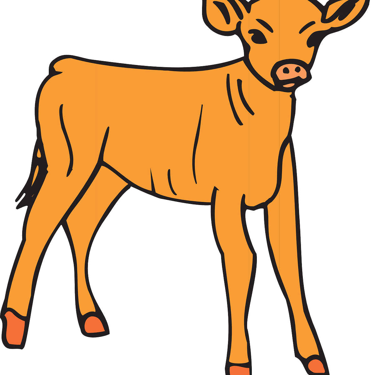 Golden calf clipart clipart images gallery for free download.