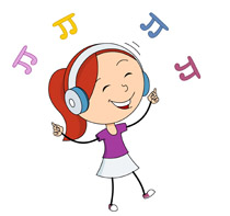 Musical Clip Art Music Notes, Music Free Clipart.