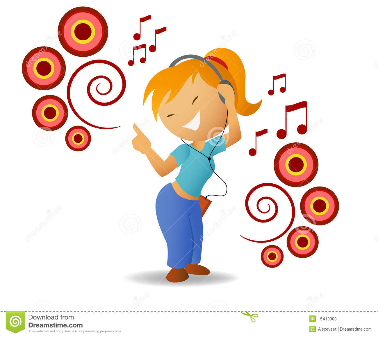 Music Dance Clipart.