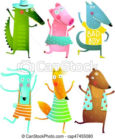 Funny Baby Dancing Animals Collection.