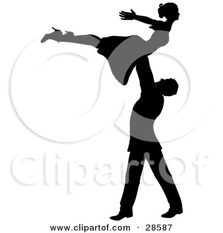 Dancing Dancer Girl Man Clipart.
